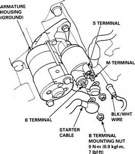 repair guides starting system starter autozone