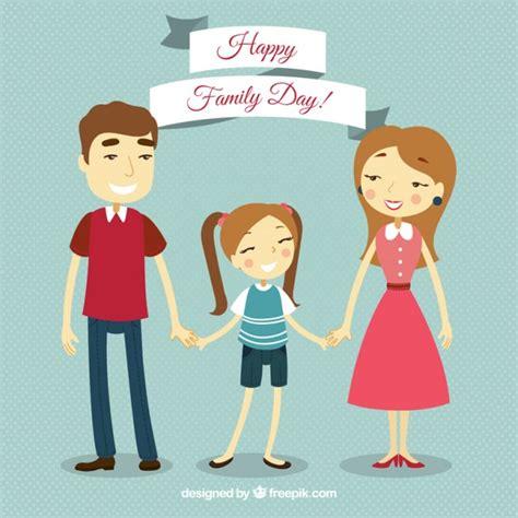 imagenes de la familia unida en navidad familia unida en estilo vintage descargar vectores gratis