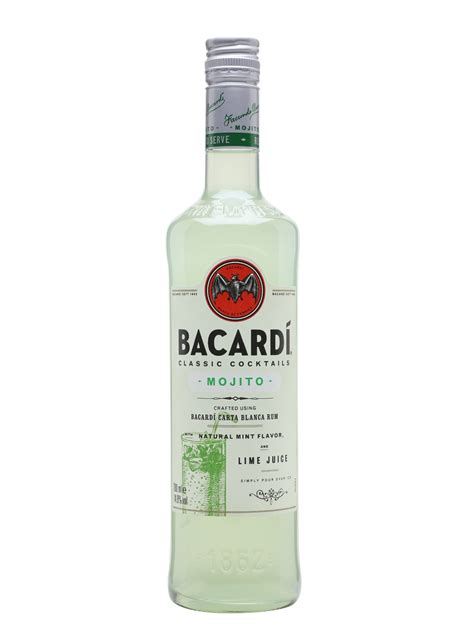 mojito cocktail bottle bacardi mojito cocktails the whisky exchange