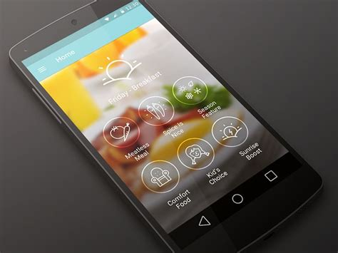 design jordans app cookspiration app for android l designed in sketch app