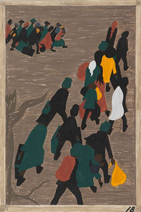 themes of the black arts movement jacob lawrence migration series sam seattle art museum