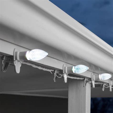 c9 lights home depot lightshow 20 light colormotion cliplights c9 white light