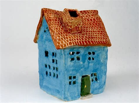 clay houses art for small hands clay houses