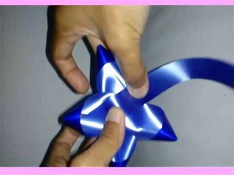 cara bikin pita jepang membuat pita bintang dari pita jepang youtube