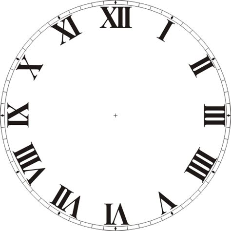 printable roman numeral clock face free clock dials