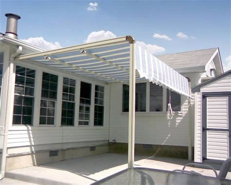 how do retractable awnings work pin by mary dolezal on awnings pinterest