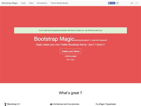 bootstrap themes search what s new for designers the best of 2014 webdesigner depot