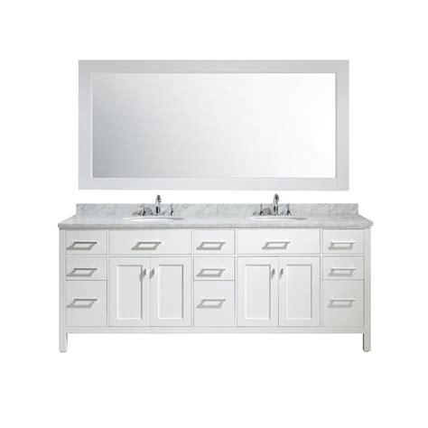 96 double vanity top design element london 84 in w x 22 in d x 35 in h