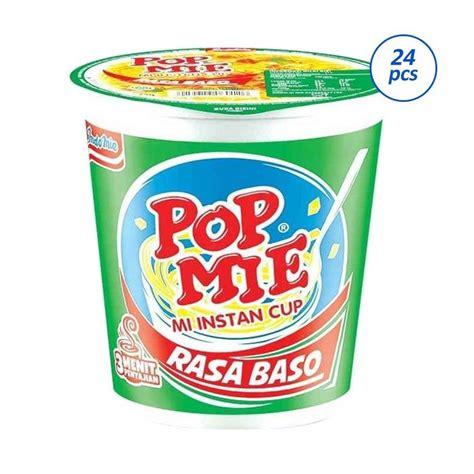 jual pop mie rasa baso makanan instan 75 g 24 cups