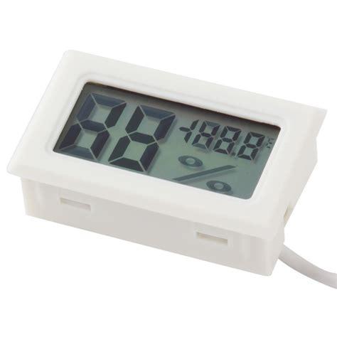 Digital Mini Thermometer onfine leo 1pc mini thermometer hygrometer temperature humidity meter digital lcd display