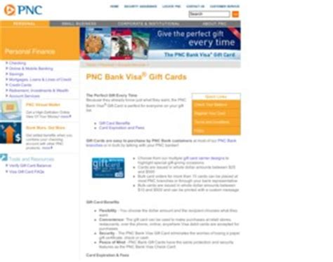 Pnc Visa Gift Cards - pnc bank visa 174 gift cards pnc bank