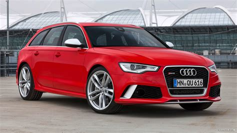 audi rs avant misano red front hd wallpaper