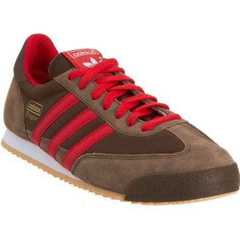 brown adidas sneakers adidas in brown for lyst