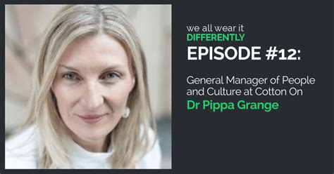 Dr Grange by 12 Dr Pippa Grange Gm Of And Culture At Cotton