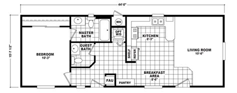 floor plans for manufactured homes wide mobile home floor plans single wide wide