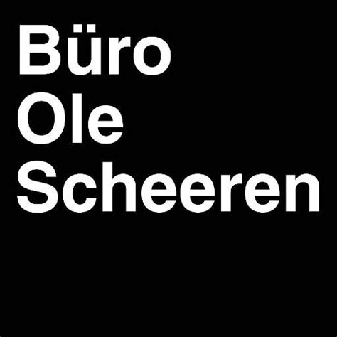 buro ole scheeren buroolescheeren - Buro Ole Scheeren