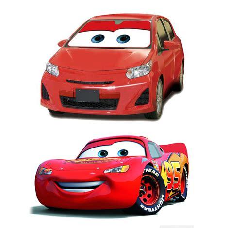 Disney Cars by Disney Pixar Cars Windshield Sun Shade The Green
