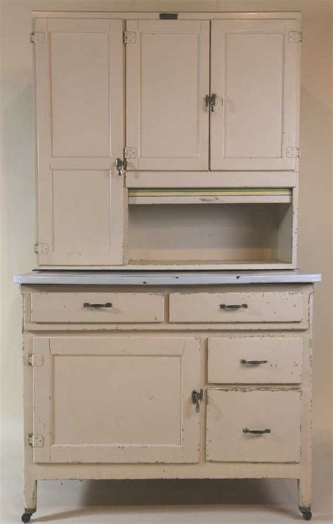 Painted Hoosier Cabinet by Antique Painted Marsh Hoosier Kitchen Cabinet
