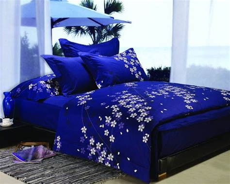 Dark Blue And Purple Bedding Sets Royal Bedroom Decorating Ideas Pinterest Small