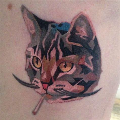 tattoo cat smoking super cat set part 5 tattooimages biz