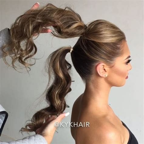 homecoming ponytail hairstyles best 25 ponytail updo ideas on pinterest wedding