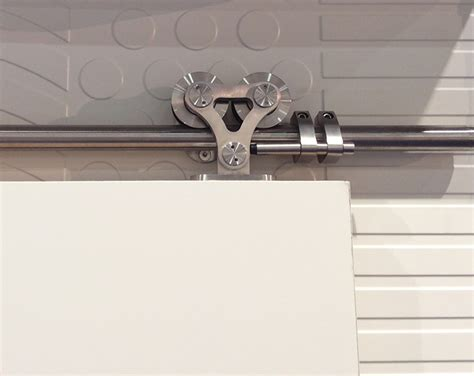 Stainless Steel Quot Double Roller Design Quot Sliding Barn Door Sliding Barn Door Tracks And Rollers