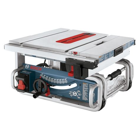 bosch bench saw bosch gts1031 10 in portable worksite table saw atg stores