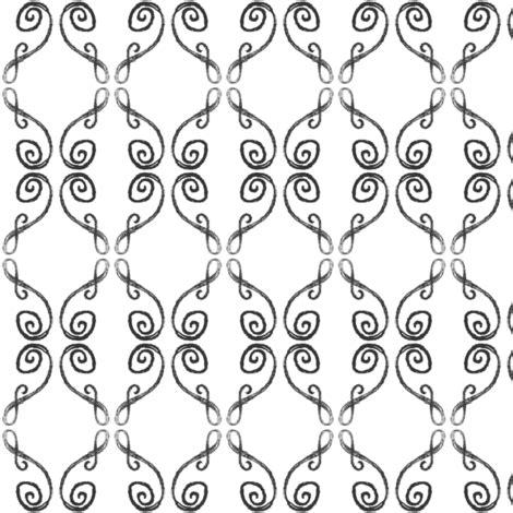 Stiker Pengiriman Shop Black Doodle doodle frederik black fabric knusperfelix spoonflower
