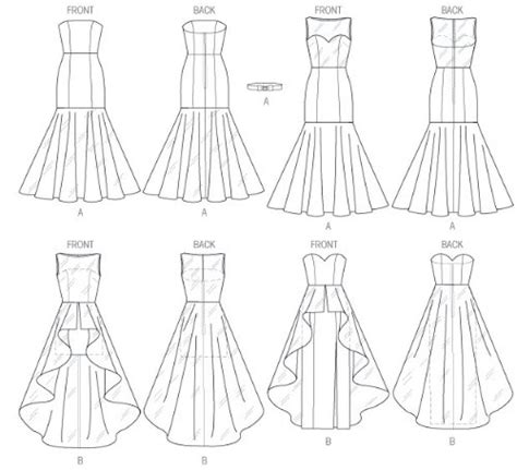 clothes pattern companies mccall pattern company m6838 misses dress sewing template