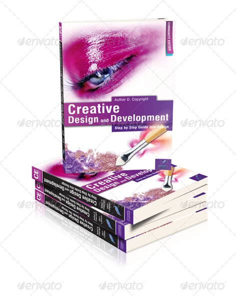15 3d book cover psd templates images 3d book cover
