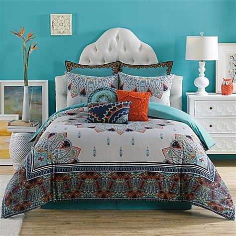 anthology comforter anthology sophia reversible comforter set bed bath beyond