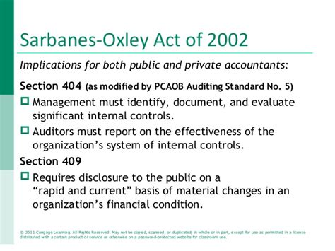 sox section 409 accounting information system ch 01 ppt1