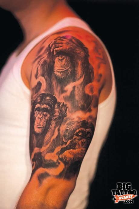 3 wise monkeys tattoo designs three wise monkeys designs search
