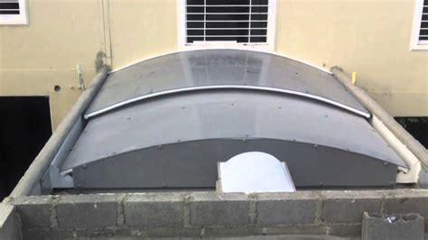 claraboya para techo techo claraboya o cupula corrediza manual policarbonato