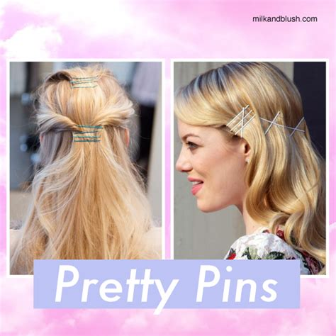 Bobby Pin Hairstyles Hair by Hair Trend Bobby Pin Hairstyles Hair Extensions