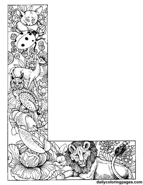 intricate alphabet coloring pages coloring pages letters adult coloring home