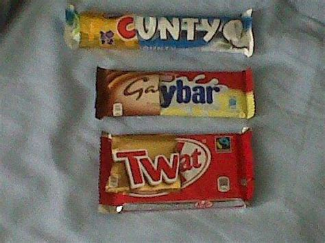 rude chocolate bars drink and drugs funny picture