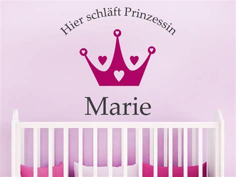 Wandtattoo Kinderzimmer Schlafen by Wandtattoo Hier Schl 228 Ft Prinzessin Wandtattoo De