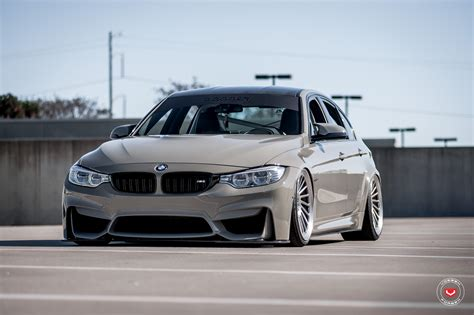 bmw slammed grigio medio bmw m3 slammed on vossen wheels bmw