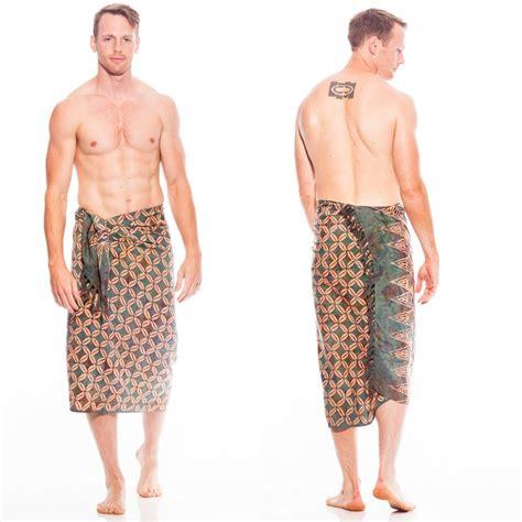 design of batik sarong traditional batik design top quality mens sarong in green