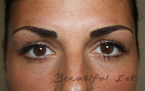 tattooed eyebrows healing process henna brows process makedes