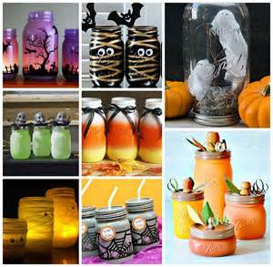 Halloween Decorations Craft Ideas Wonderful 21 Halloween Ideas Using Mason Jars