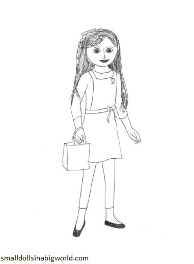 coloring pages american girl grace american girl doll coloring pages bestofcoloring com