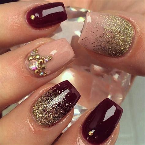 imagenes de uñas geniales 20 elegantes ideas para dise 241 ar tus u 241 as con color ciruela