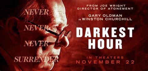 darkest hour cinema flagship cinemas