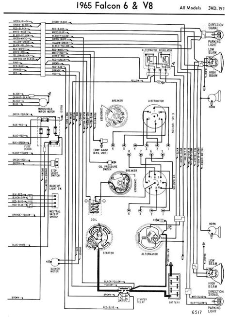 ford falcon alternator conversion wiring diagrams wiring