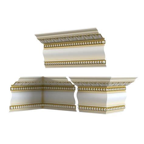9 Moulding 3d classic plaster cornice 3d model