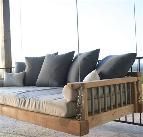 modern swing best 25 porch swing beds ideas on pinterest