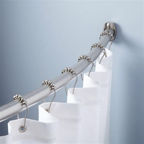 types of shower curtain rods curtain wall system types home design ideas
