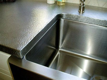 17 best ideas about metal countertops on